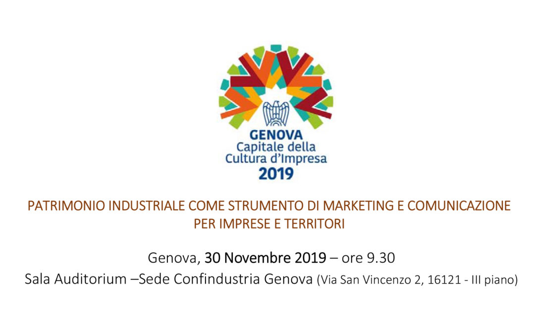 Patrimonio Industriale come strumento di marketing e comunicazione